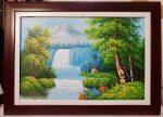 Tranh sơn dầu- Phong cảnh thiên nhiên- S153