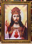 Tranh in dầu, Chọn Chúa làm Vua -C13