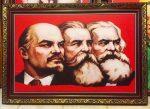 Chủ nghĩa Mác -Lênin ( tranh in dầu IN100)