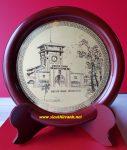 Quà tặng đĩa để bàn, Chợ Bến Thành-QT10