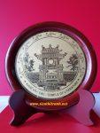Quà tặng lưu niệm đĩa để bàn, Văn miếu quốc tử giám-QT11