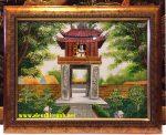 Tranh sơn mài, Văn miếu quốc tử giám – SM304
