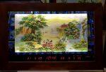 Lịch vạn niên tranh đá đèn led-Phong cảnh Sơn Thủy-2086