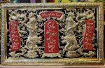 Tranh thờ tổ tiên – Cửu huyền thất tổ-A227