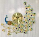 Đồng hồ trang trí chim công – 1810