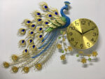 Đồng hồ trang trí chim công -1913