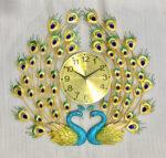 Đồng hồ trang trí đôi chim công – 1934