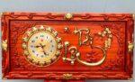 Tài lộc – 4202 ( tranh gỗ hương đỏ)