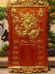 Tranh gỗ hương đỏ đốc lịch Di Lặc – 4702