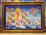Tranh Tây phương cực lạc thánh chúng ADIDA – 905-2