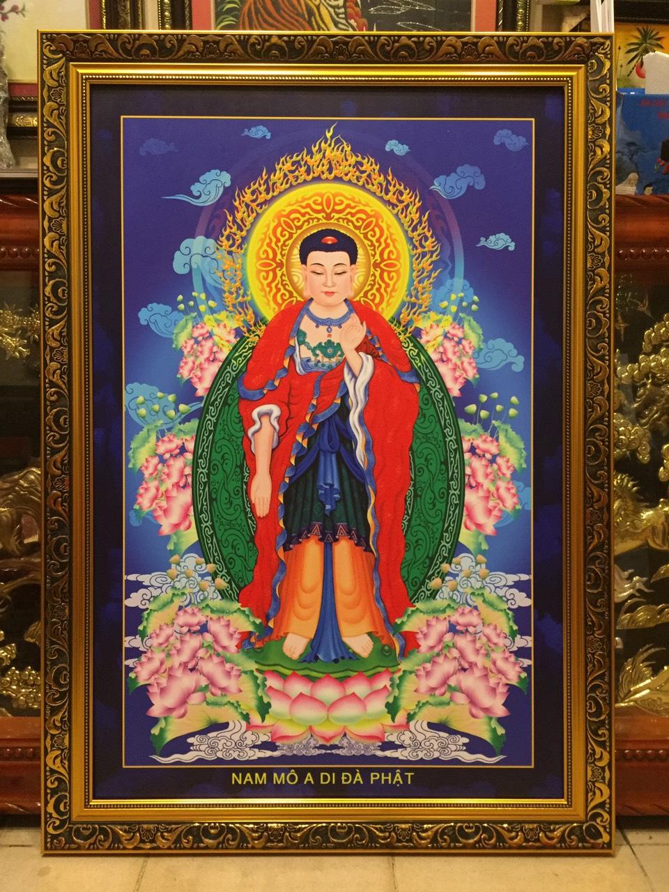 Tranh Phật – A Di Đà Phật – 215
