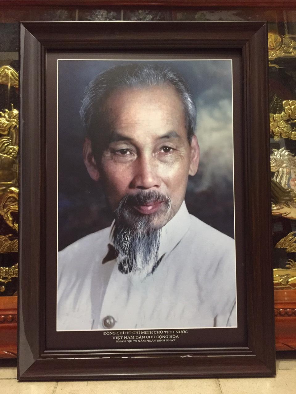 Tranh Chủ tịch Hồ Chí Minh – 1965