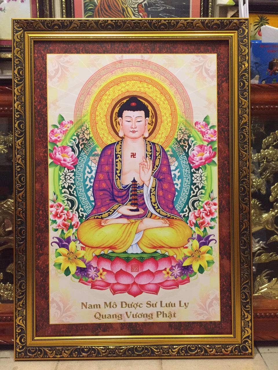 Tranh Dược Sư Lưu Ly Vương Quang Phật – 226