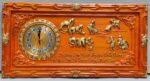 Đồng hồ gỗ thư pháp Cha Mẹ – 4205