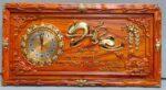 Đồng hồ gỗ hương chữ Đức – 4208