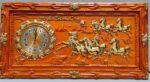 Đồng hồ gỗ mã đáo thành công – 4209